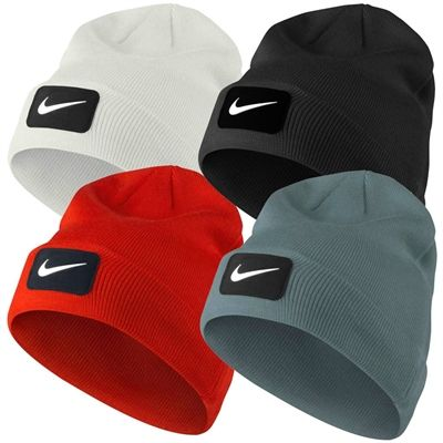 a20329f0914 2014 Nike Swoosh Patch Knit Golf Beanie Mens Winter Hat