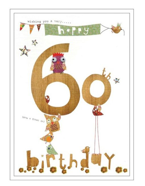 Wishing you a very happy 60th birthday have a great day – 60th Birthday Sayings for Cards