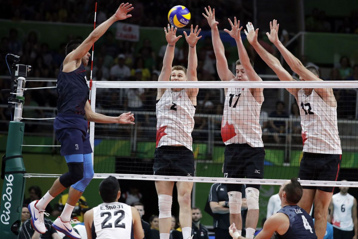 Former Byu Player Taylor Sander Usa Men S Volleyball Falls To Italy In 2020 Mens Volleyball Olympic Volleyball Summer Olympics 2016