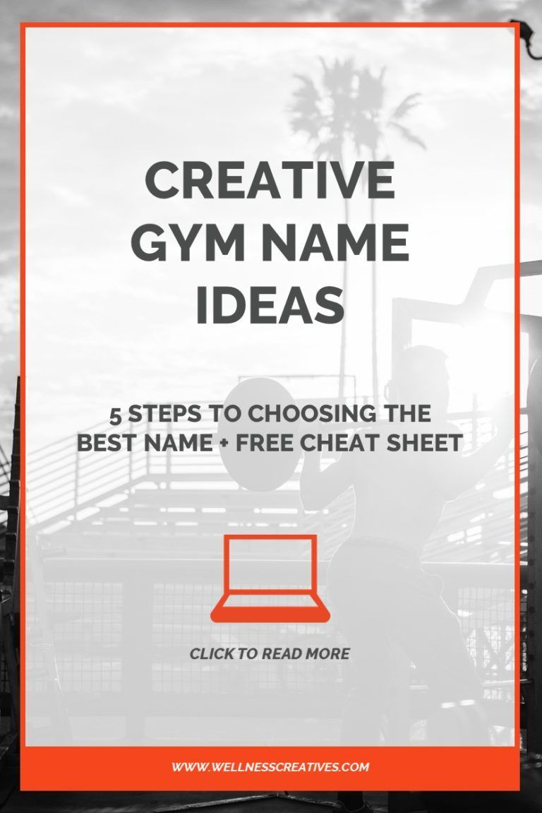 50 Creative Fitness & Gym Name Ideas [+Choosing The