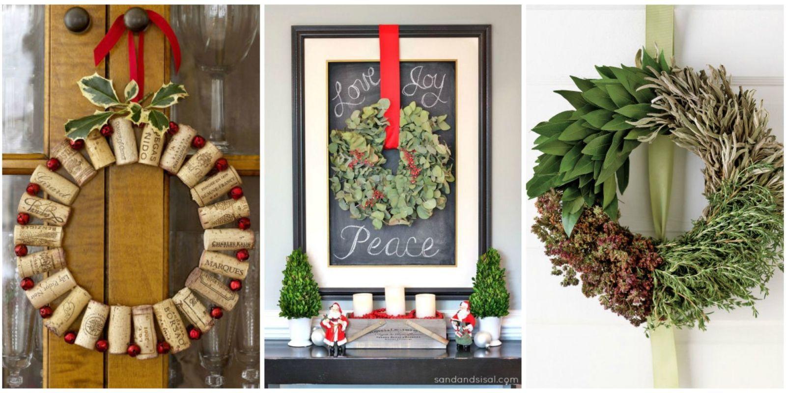 50 festive do it yourself christmas wreath ideas wreaths 50 festive do it yourself christmas wreath ideas solutioingenieria Gallery