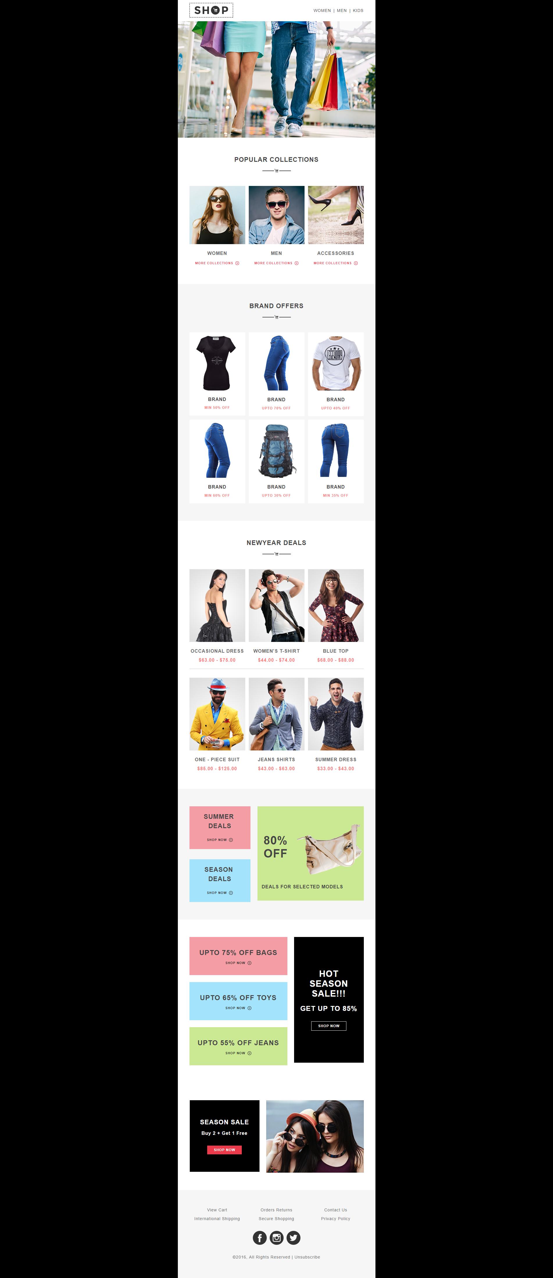 Design Editable Responsive Html Email TemplateNewsletter