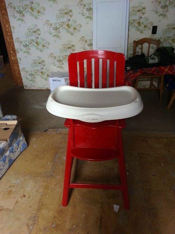 Eddie Bauer High Chair Paint Glossy Red highchair – Eddie Bauer Beach Chairs