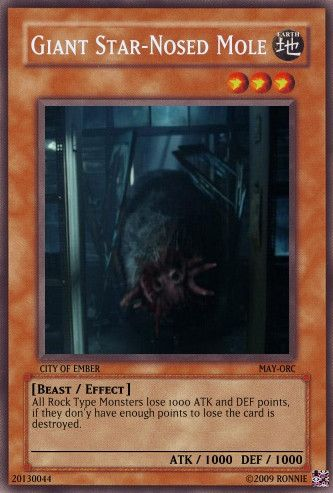 Giant Mole Yu Gi Oh Card By Ronnie R15 On Deviantart City Of Ember Giant Star Yugioh