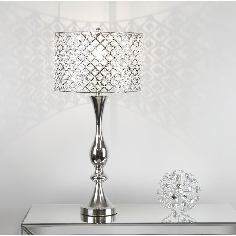 Flannery 28 Table Lamp Table Lamp Lamp Crystal Table Lamps