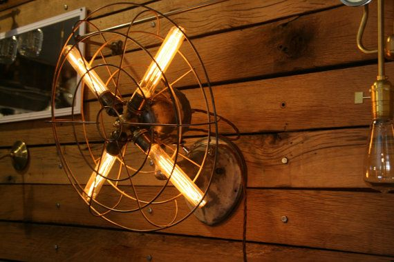 Your Place To Buy And Sell All Things Handmade Fan Light Wall Mounted Fan Wall Lamp