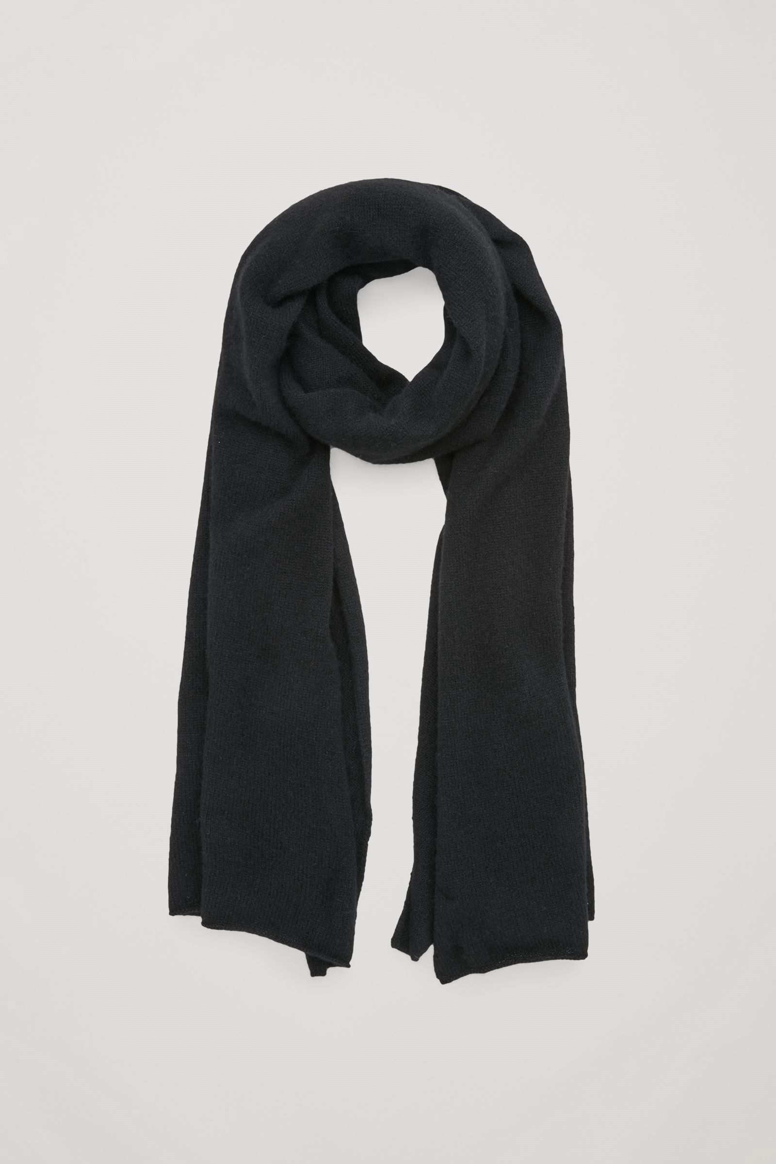 4a9ac17d902c9 COS Cashmere scarf - Black. #cos # | Cos | Cashmere scarf, Cashmere ...