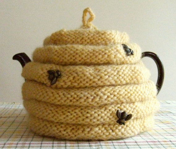 Spouted Beehive Tea Cozy PDF pattern by DawnBroccoDesigns on Etsy ...