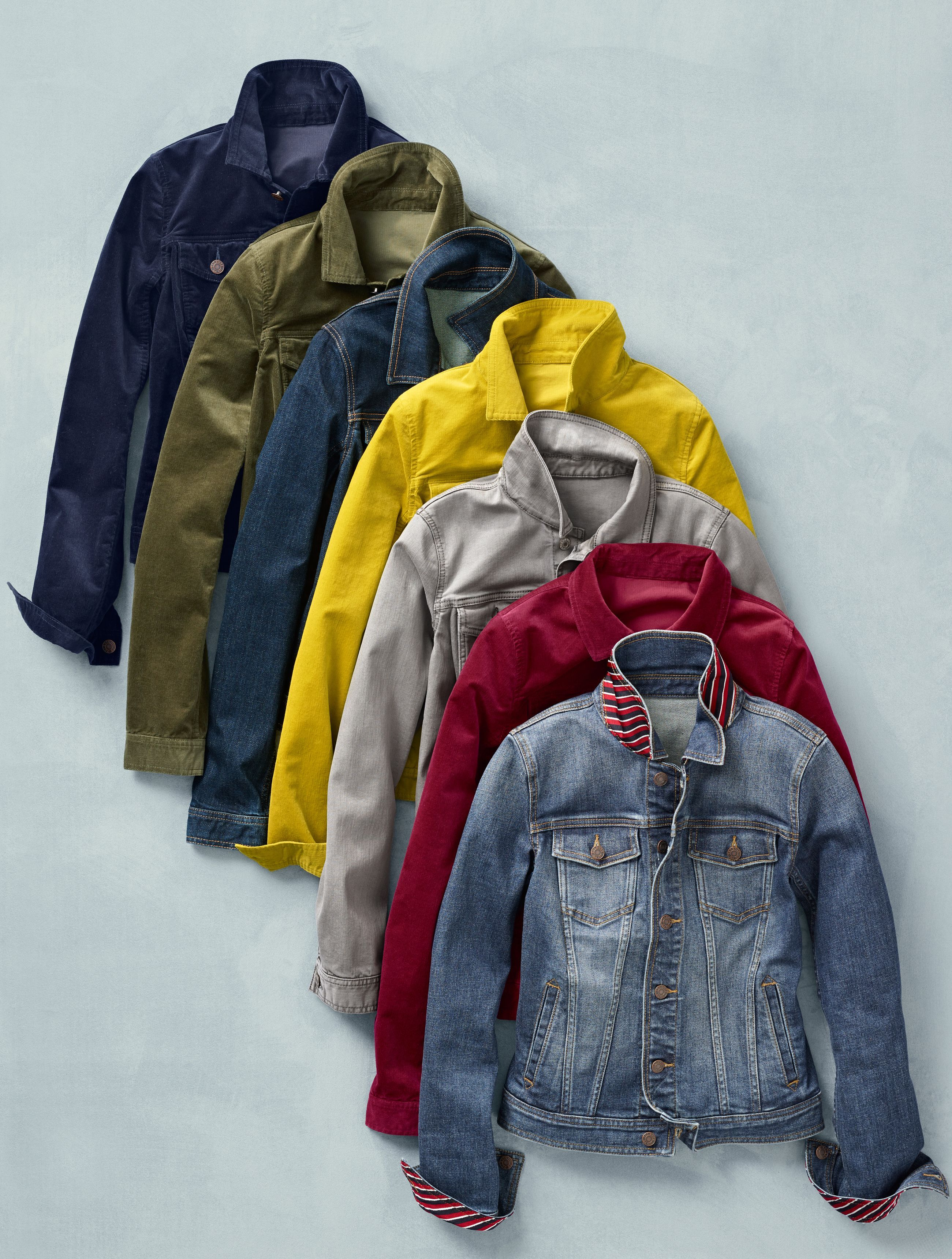 The Jean Jacket In Fall Ready Colors To Add To Your Collection So Popular We Brought Winter Fashion Casual Denim Jacket Women Womens Fashion Casual Winter [ 3440 x 2601 Pixel ]