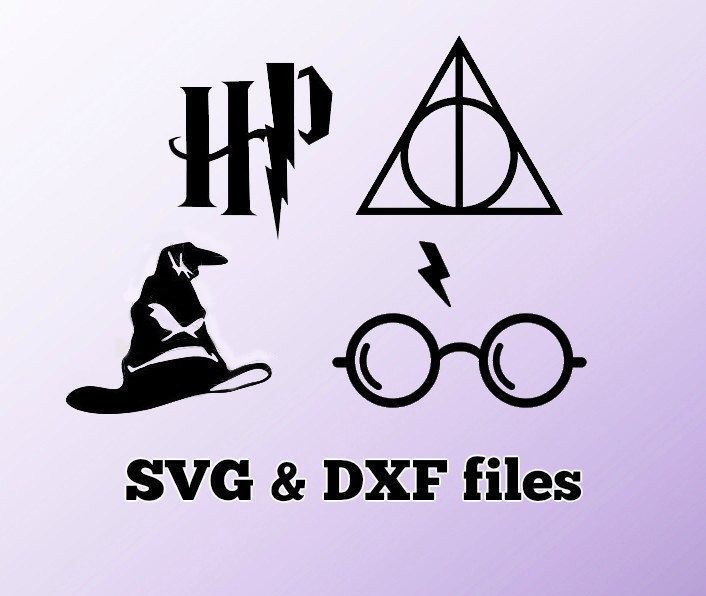 HARRY POTTER IRON ON QUOTES HEAT TRANSFER TSHIRT DEATHLY HALLOWS LOT