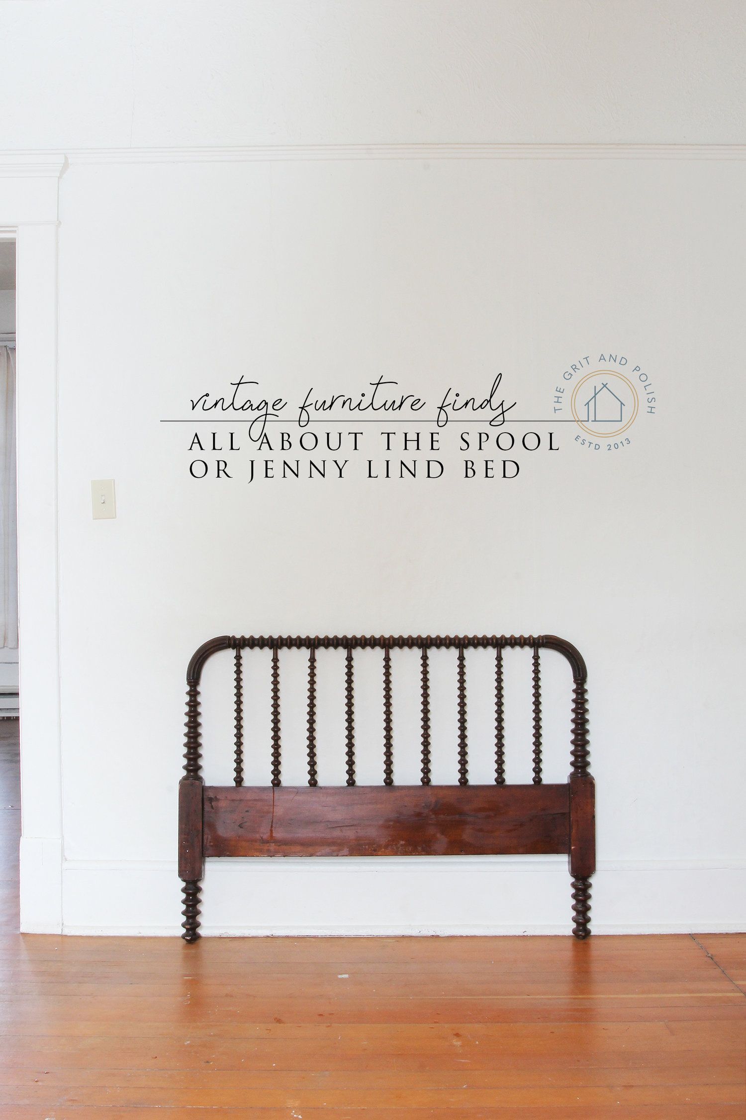 Vintage Find // A Jenny Lind Spool Bed (With Images