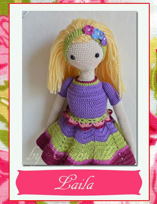 Dollcrochet dollAmigurumi doll