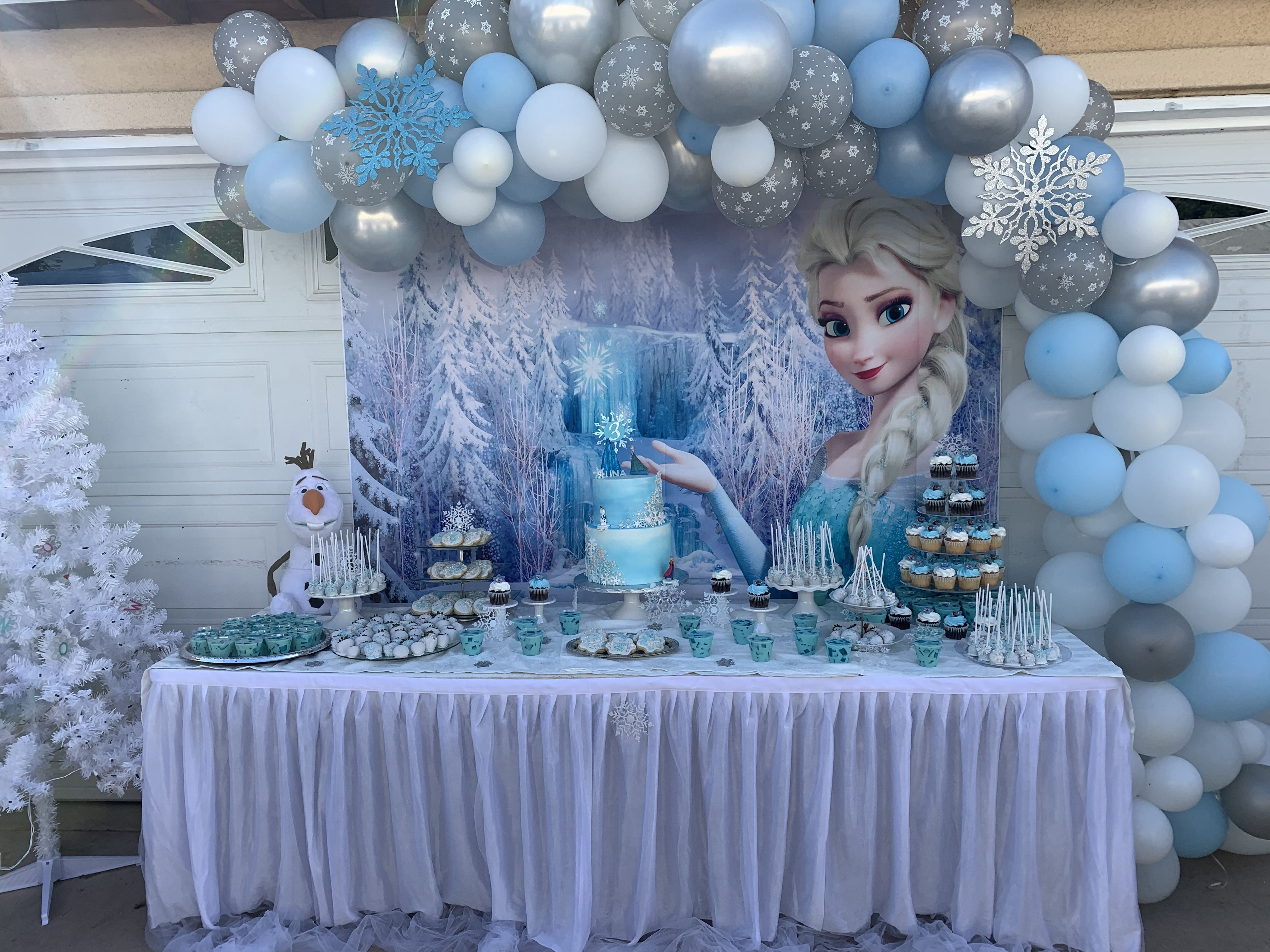 Frozen Birthday Frozen Themed Birthday Party Elsa Birthday Party Frozen Birthday Decorations