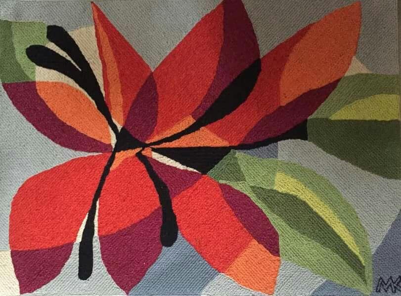 1970s tapestry from Rio de Janiero artist Maria Kikoler