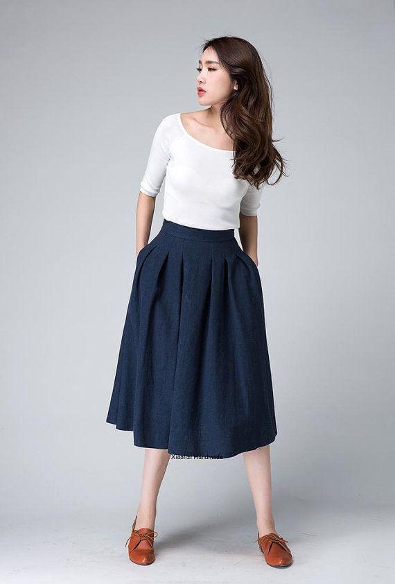 21f64a457a altura de la cintura falda