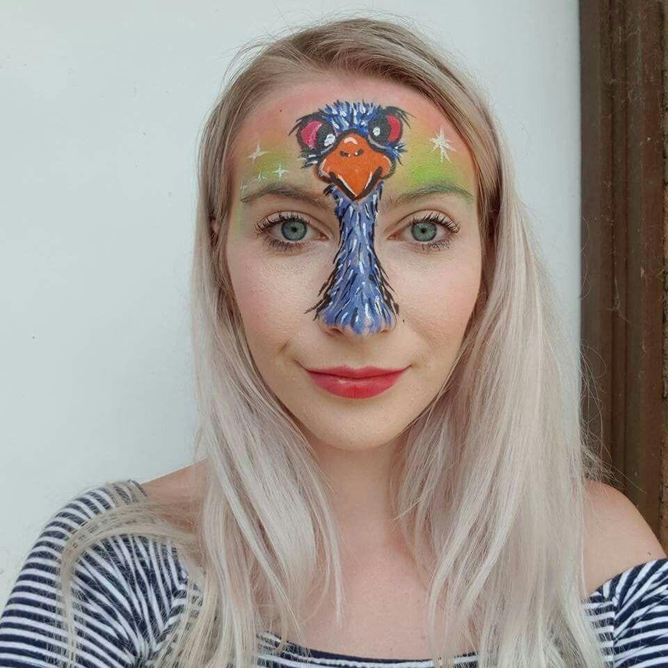 Pin De Deborah Valentino Em Face Paint Australia Maquiagem Artistica Carnaval Maquiagem