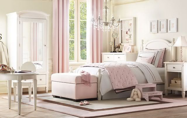 Cream And Pink Bedrooms