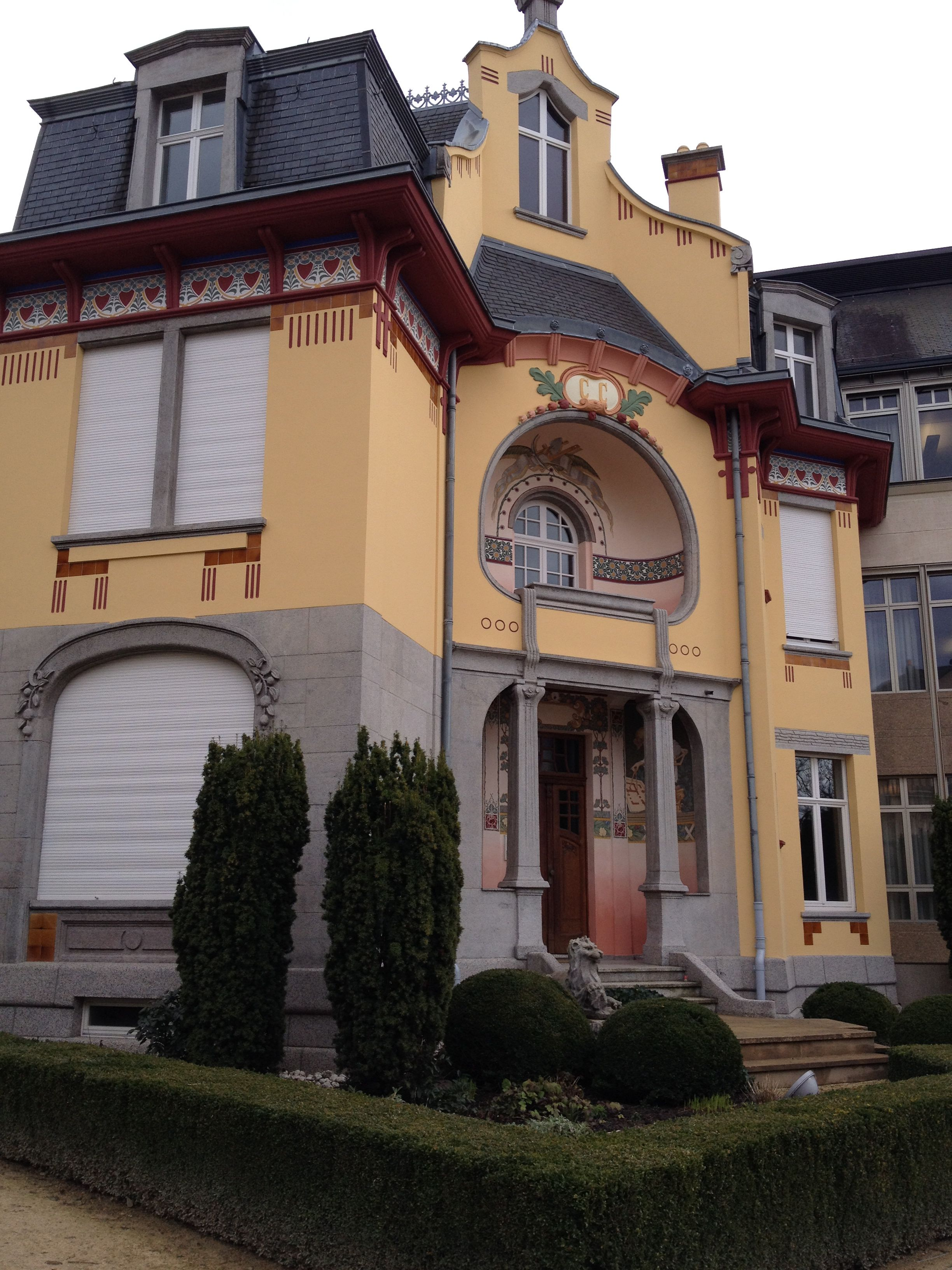 Smal Art Deco House In Luxembourg City, Luxembourg.