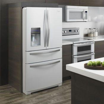 Costco Whirlpool® 28CuFt French 4 Door White Ice