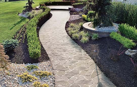 Http www techo bloc com homeowners displayImage  Flagstone WalkwayStone   http www techo bloc com homeowners displayImage php imageId 6768  . Flagstone Sidewalk Pictures. Home Design Ideas