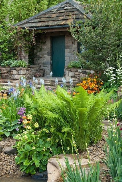 The Olde Barn Garden Inspiration