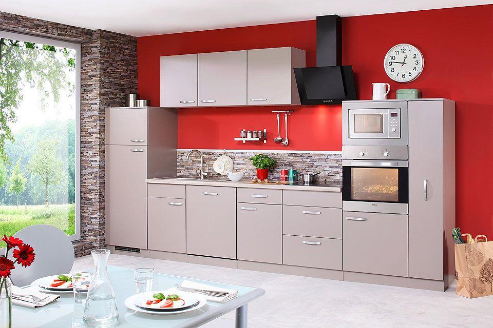 Küchenzeile mit E-Geräten »Kansas«, Breite 370 cm Jetzt bestellen - küchenzeile 240 cm mit geräten