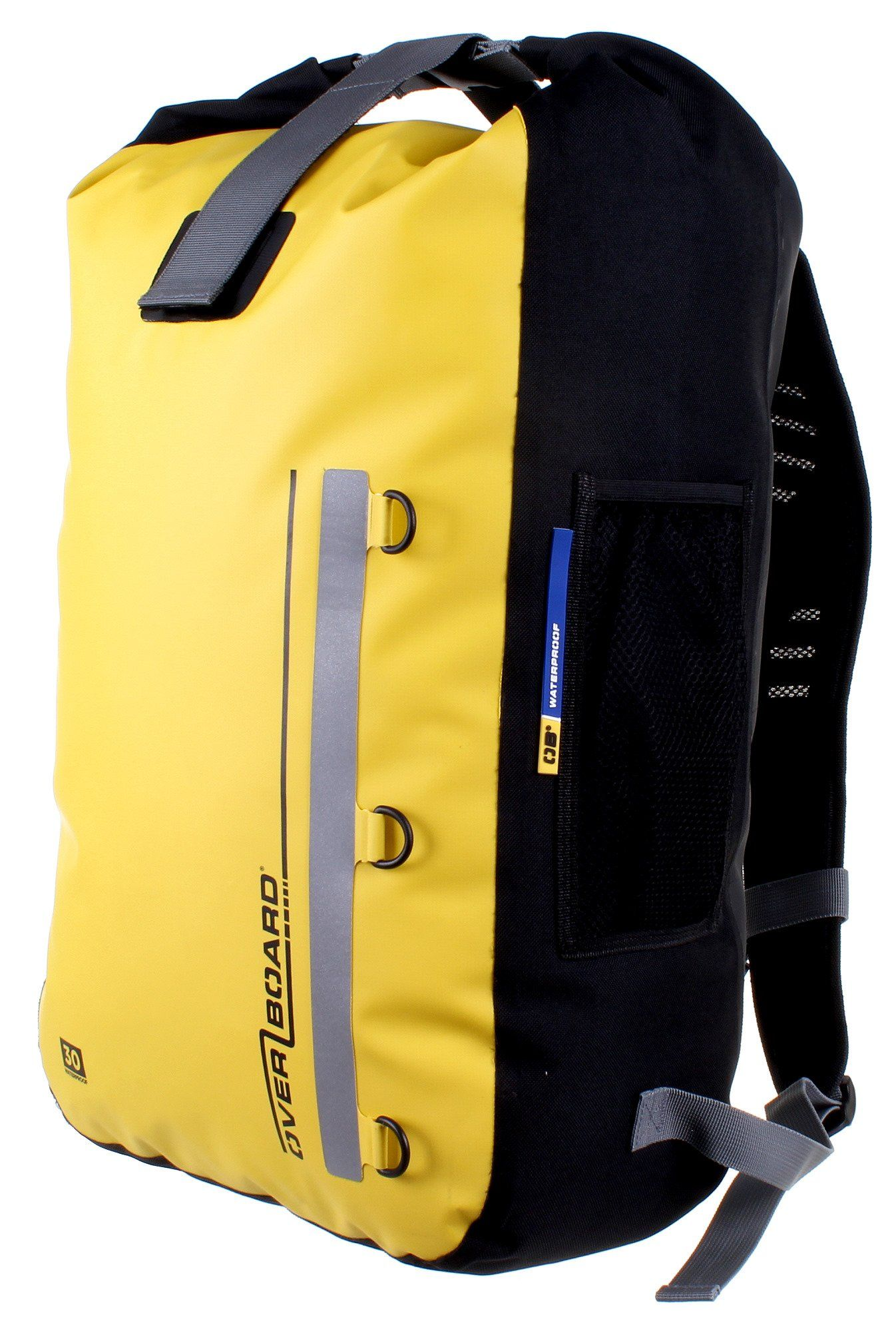 OverBoard Waterproof Classic Backpack, Yellow, 30-Liter | Sports ...