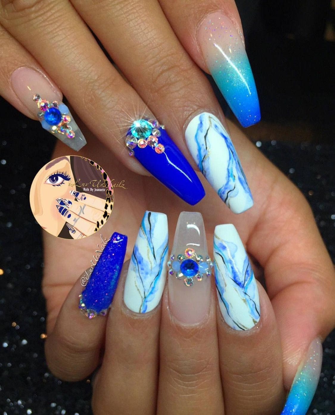Marble Nail Art Stiletto: For More Pins & Boards Follow @ ⓅⒾⓃ ⒶⒹⒹⒾⒸⓉ