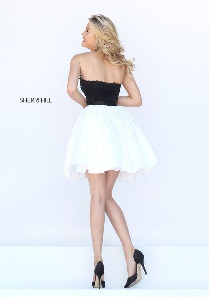 Sherri Hill 50386. Satin ShortsShort Prom DressesSherri ...