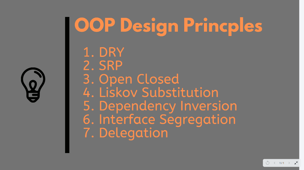 10 Oop Design Principles You Can Learn In 2020 With Images