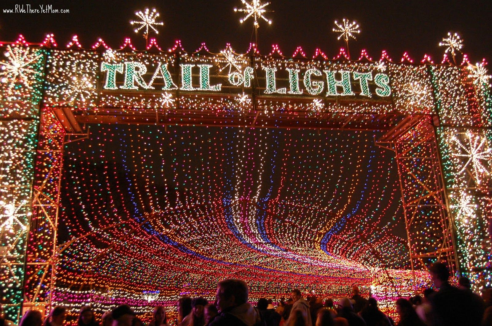 5 reasons why you should see the trail of lights austin tx 2012 r we there yet mom family travel for texas and beyond - Christmas Lights Austin Tx