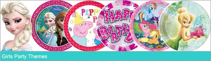 Girls Party Themes. www.KidsPartyTime.co.uk
