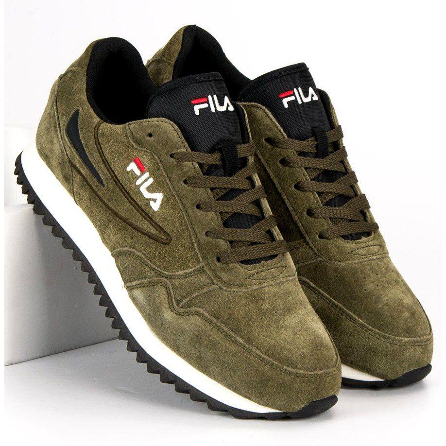 Sportowe Meskie Fila Zielone Fila Orbit Jogger Ripple S Low New Balance Sneaker Joggers Shoes