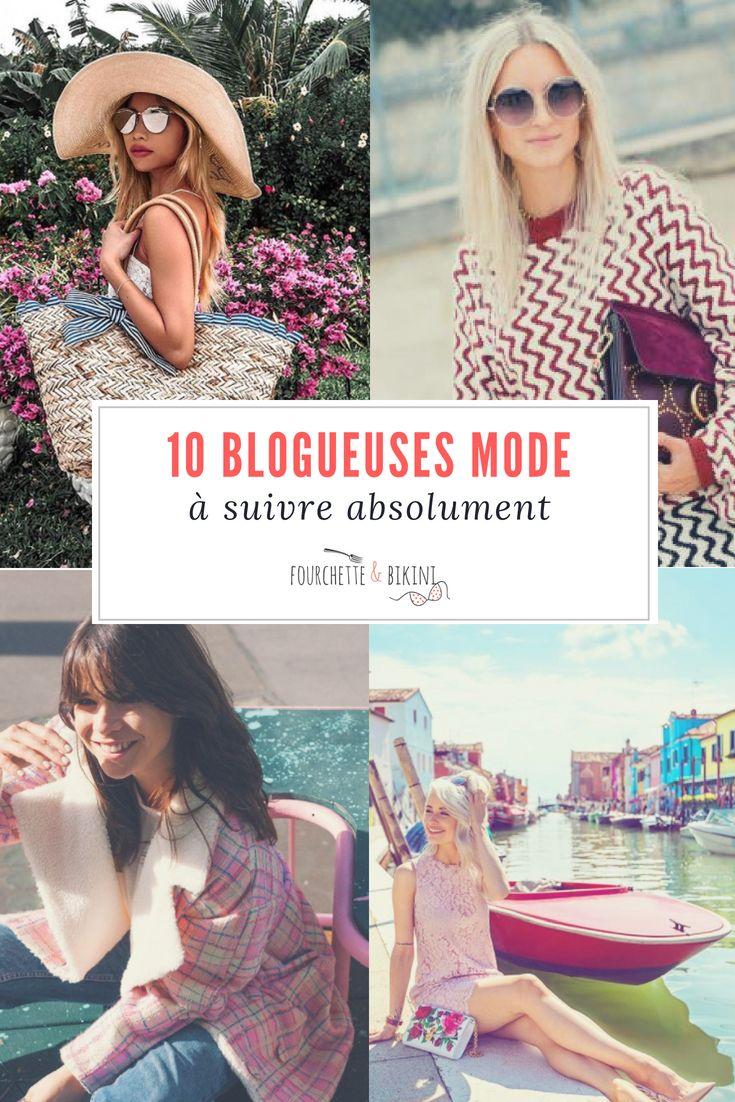 Les blogueuses mode sont nombreuses sur Instagram et sur la Toile. Et on adore les suivre pour sinspirer de leurs looks et prendre une petite dose de rêve avec elles !