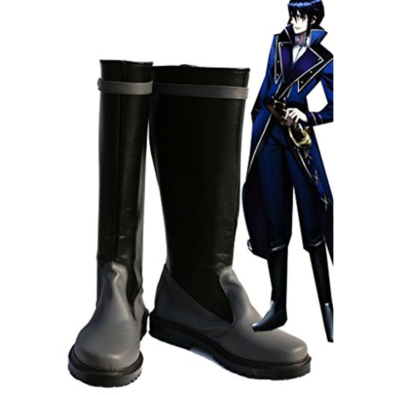 K RETURN OF KINGS Anime Munakata Reisi Cosplay Shoes Boots Custom Made