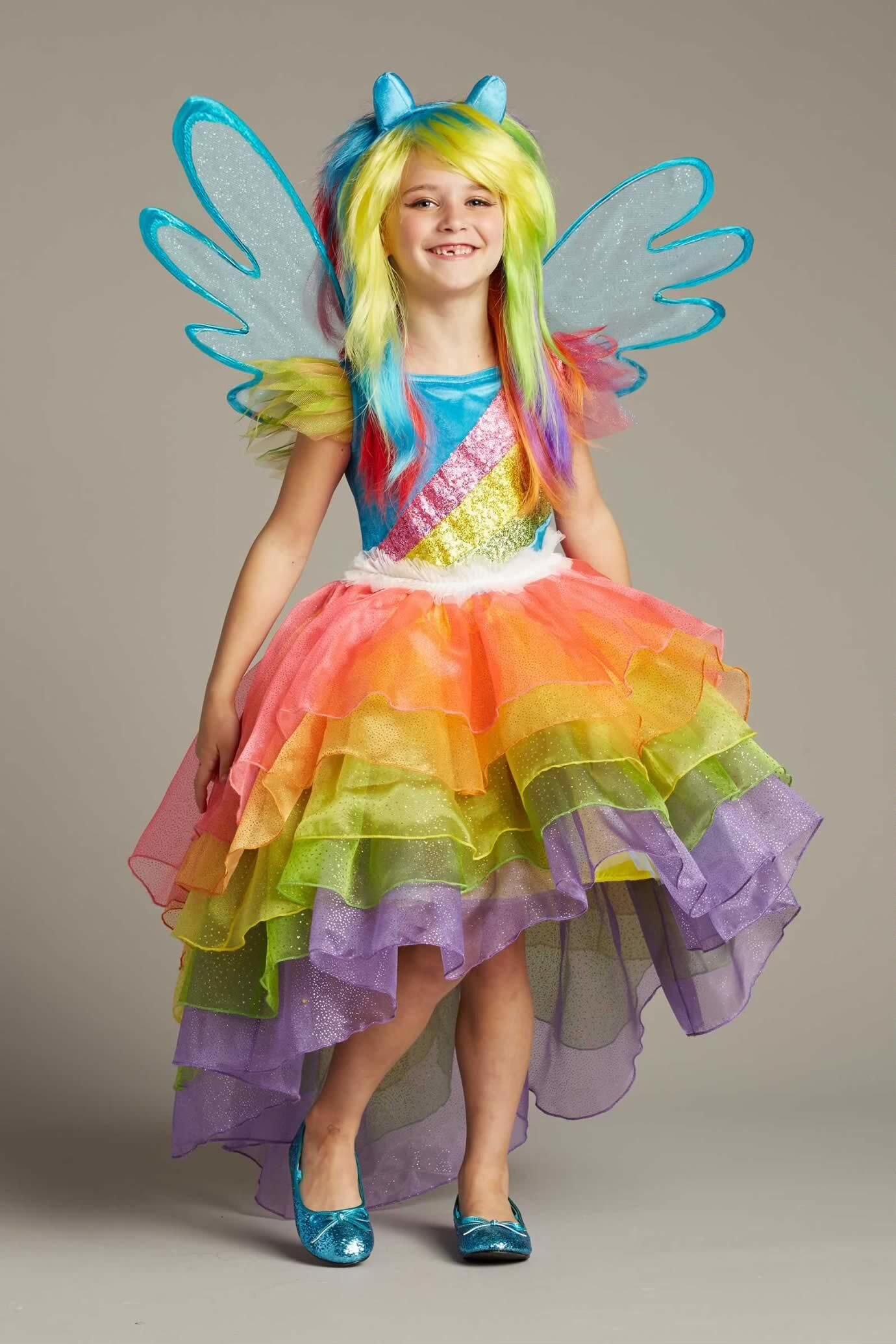 8a11e58551dd6 My Little Pony Rainbow Dash Costume For Girls: #Chasingfireflies $116.00