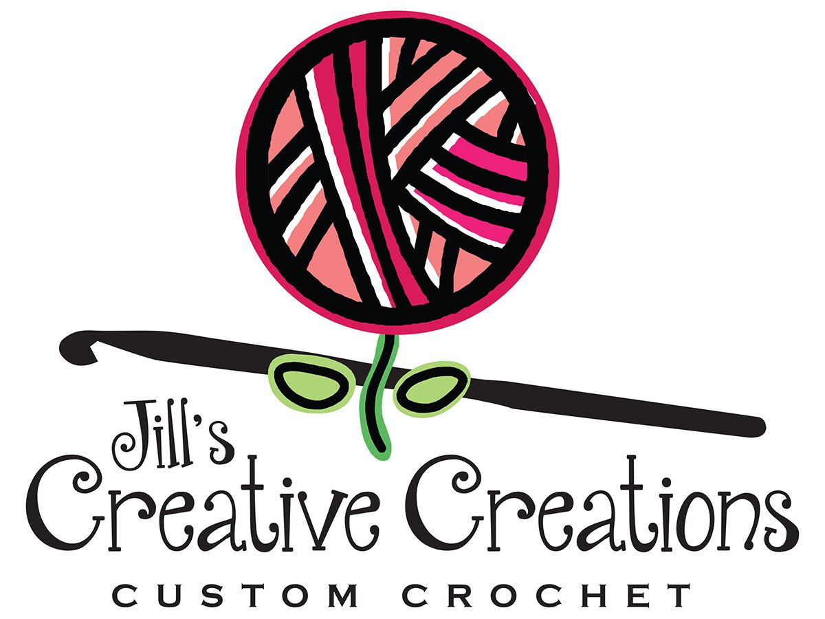 Custom Crochet Logo Design Sewing Logo Design Business Card Ideas Business Card Design