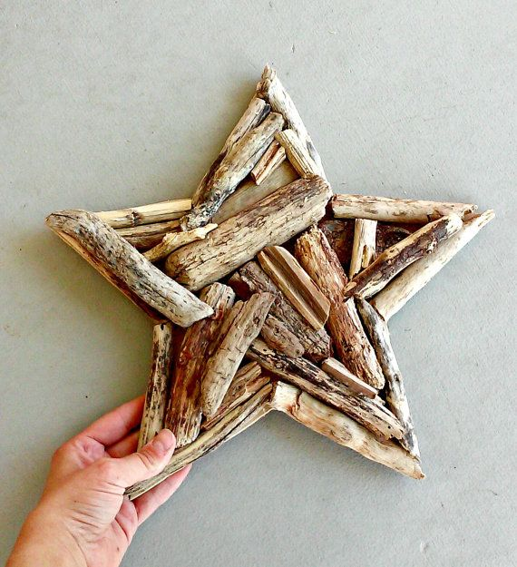 Driftwood Star 10 Rustic 4th Of