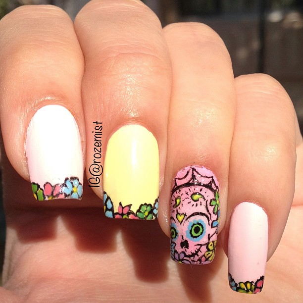 10 of the Most Popular Photos on Instagram   Nails/Uñas - Tecnicas ...
