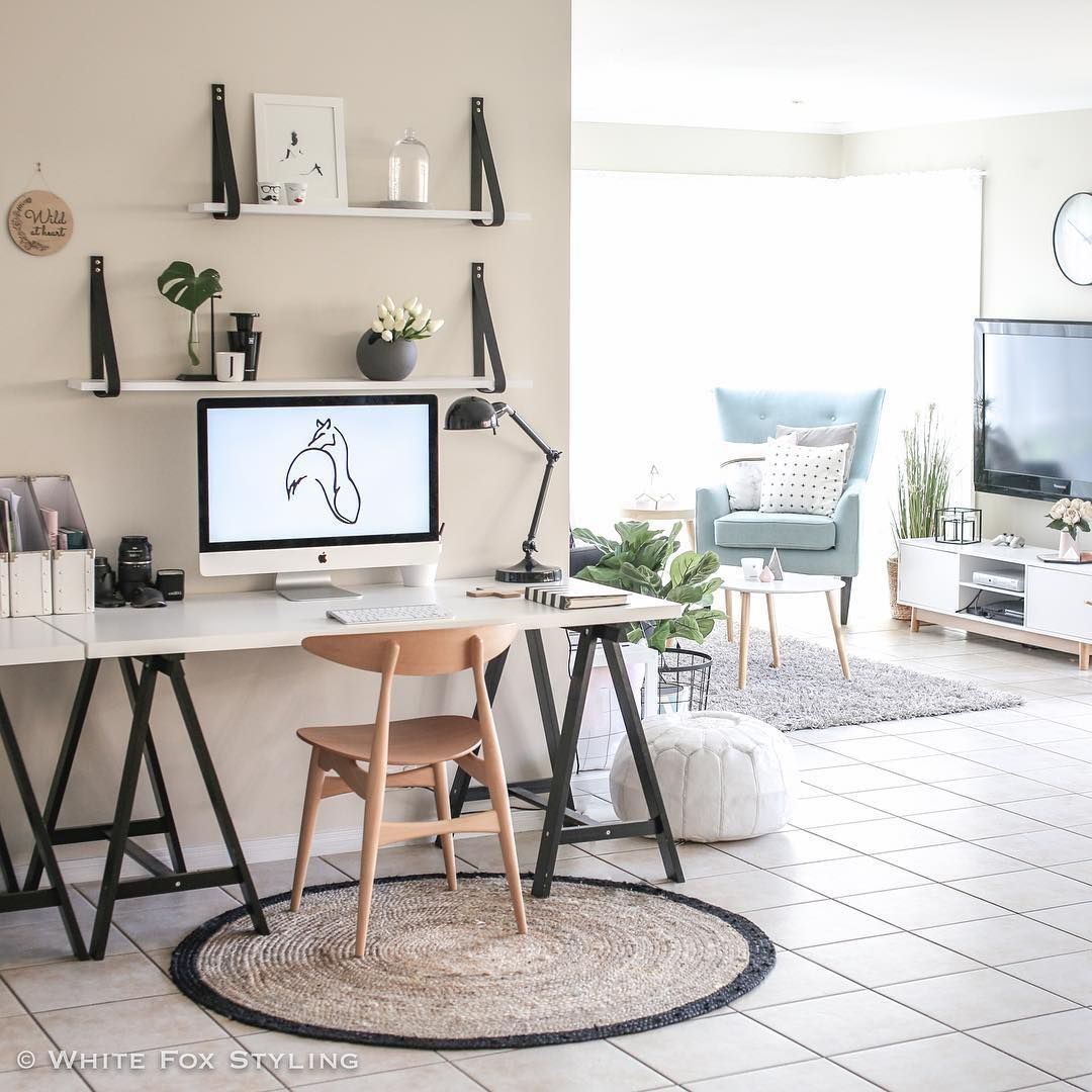 22 Scandinavian Home Office Designs Decorating Ideas: On The Creative Market Blog
