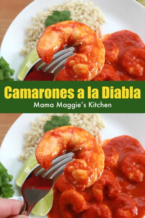 Camarones a la Diabla #mexicanshrimprecipes