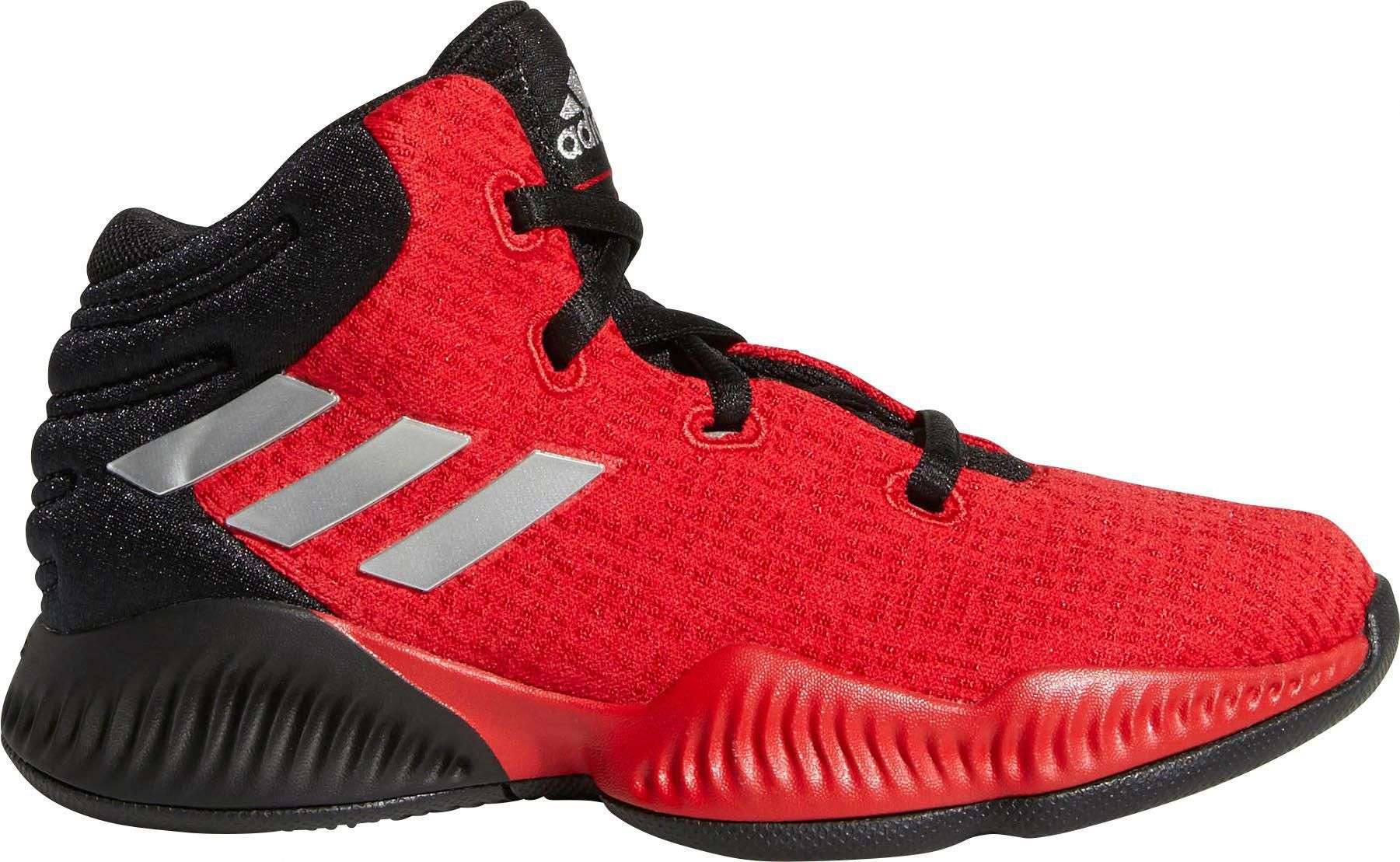 Adidas Kids Preschool Mad Bounce Basketball Shoes Black Adidasbasketballshoes Basketball Shoes Adidas Basketball Shoes Basketball Shorts Girls