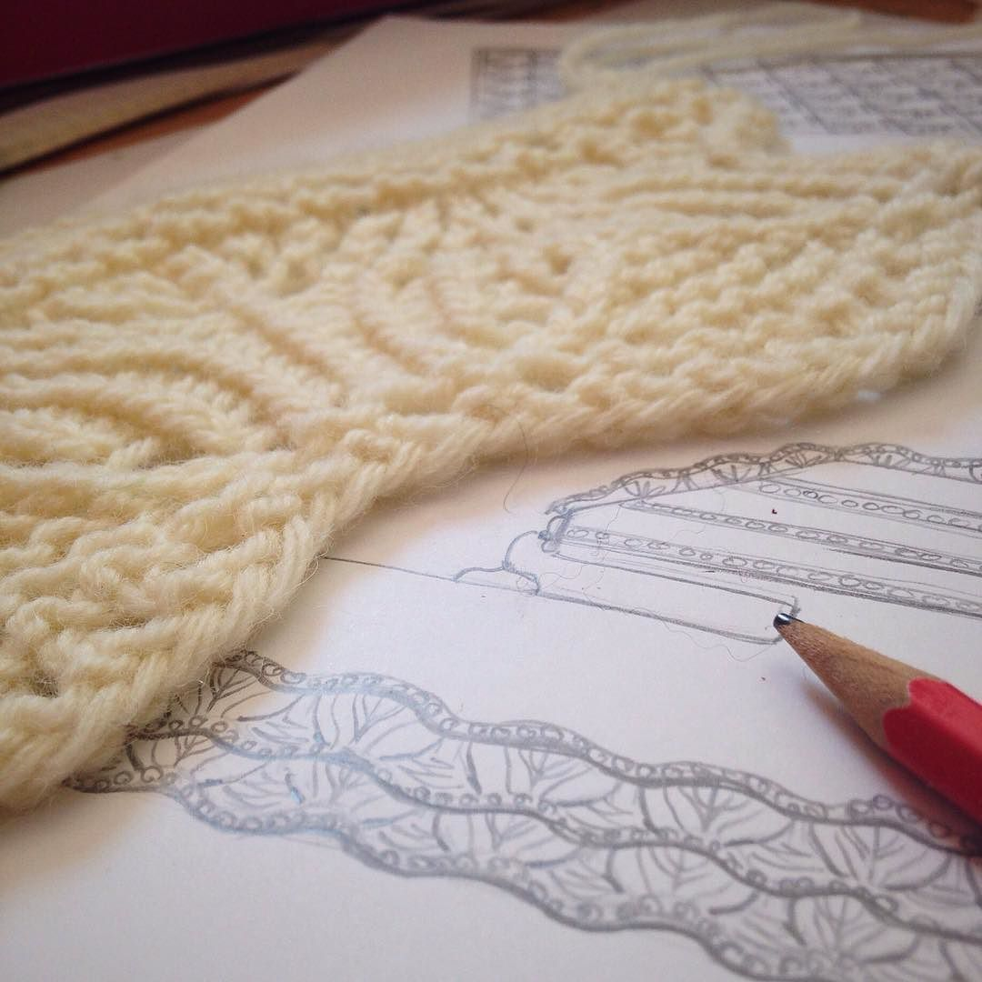 Working on some new ideas #littlenutmegproductions #meghanjoneslnmp #makersofinstagram #knit #knits #knitted #knitlove #knitters #knittersofig #knittersoftheworld #knittersofinstagram #knitdesign #knitdesigner #design #designer #drawing #art #newideas #lace #laceknitting #cream #drawn #knitting_inspiration #knitting #knittingaddict    Hi you see how to make this very stylish headband ? How to make a braided headband with skewers I wi... #727pm #Apr #Instagram #NutMeg #post #Productions #UTC