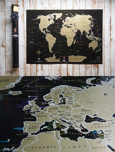 Other travel maps 164807 gift new black world scratch map travel other travel maps 164807 gift new black world scratch map travel large home decor gumiabroncs Choice Image