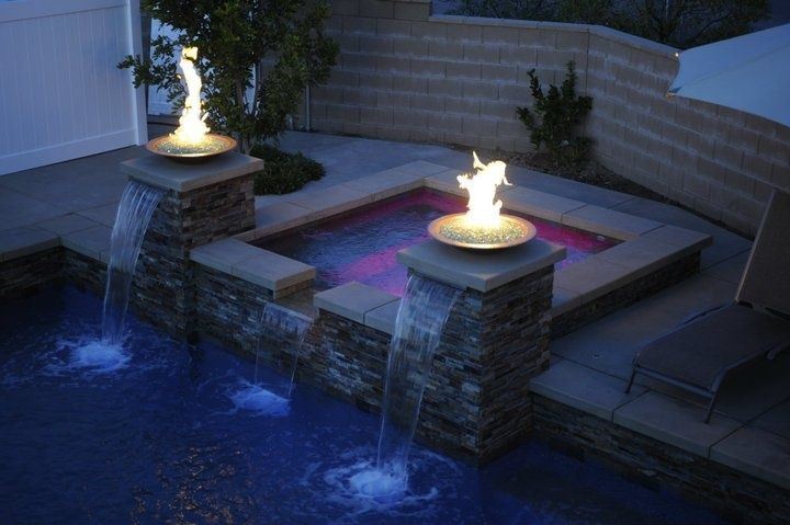 Gas Fire Bowls For Pools Backyard Renovations