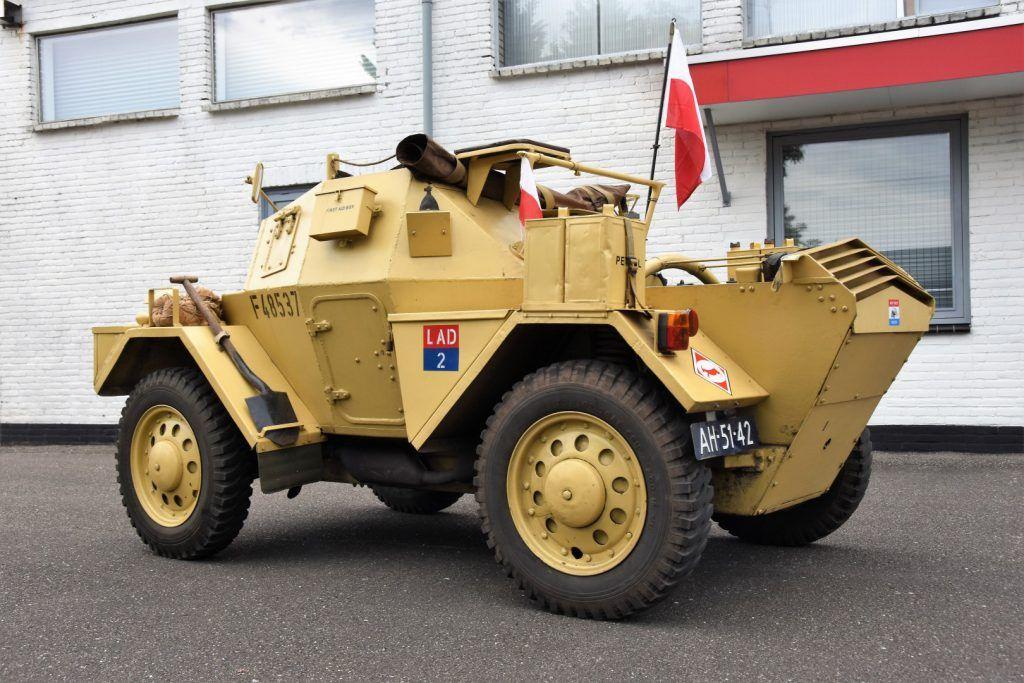 1942 Daimler Dingo F45837 Baiv B V Dingo Armored Vehicles