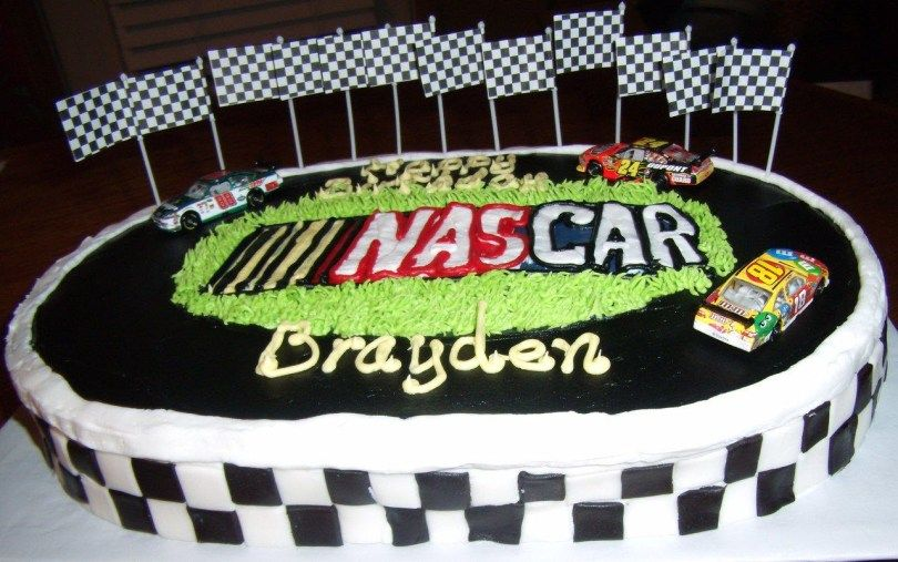 Incredible 21 Inspired Picture Of Nascar Birthday Cake Nascar Cake Cute Funny Birthday Cards Online Elaedamsfinfo