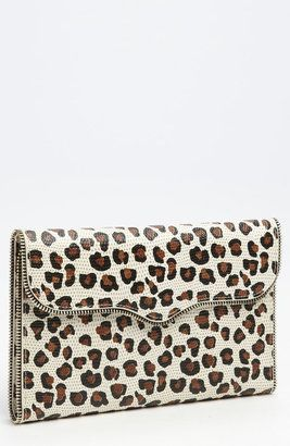 Rebecca Minkoff - Cheetah Print Passport Wallet - $225.00 - Click on the image to shop now