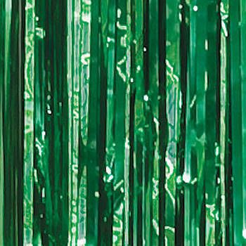 These Forest Green Foil Curtains Will Wow Your Guests And Give Your Party  Venue A Spectacular