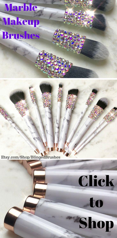 Blinged Brushes 12 Piece Makeup Brush Set / Bling